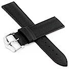 海奕施 HIRSCH Arne L 橡膠複合式小牛皮錶帶-深棕