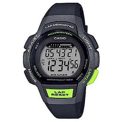 CASIO 慢活首選輕量型混色運動休閒錶(共6款男女樣式顏色可選)
