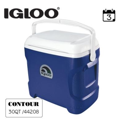 【IGLOO】CONTOUR系列30QT冰桶44642(44643) 藍色