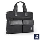 74盎司 Presence 雙口袋造型側背包[G-1048]黑