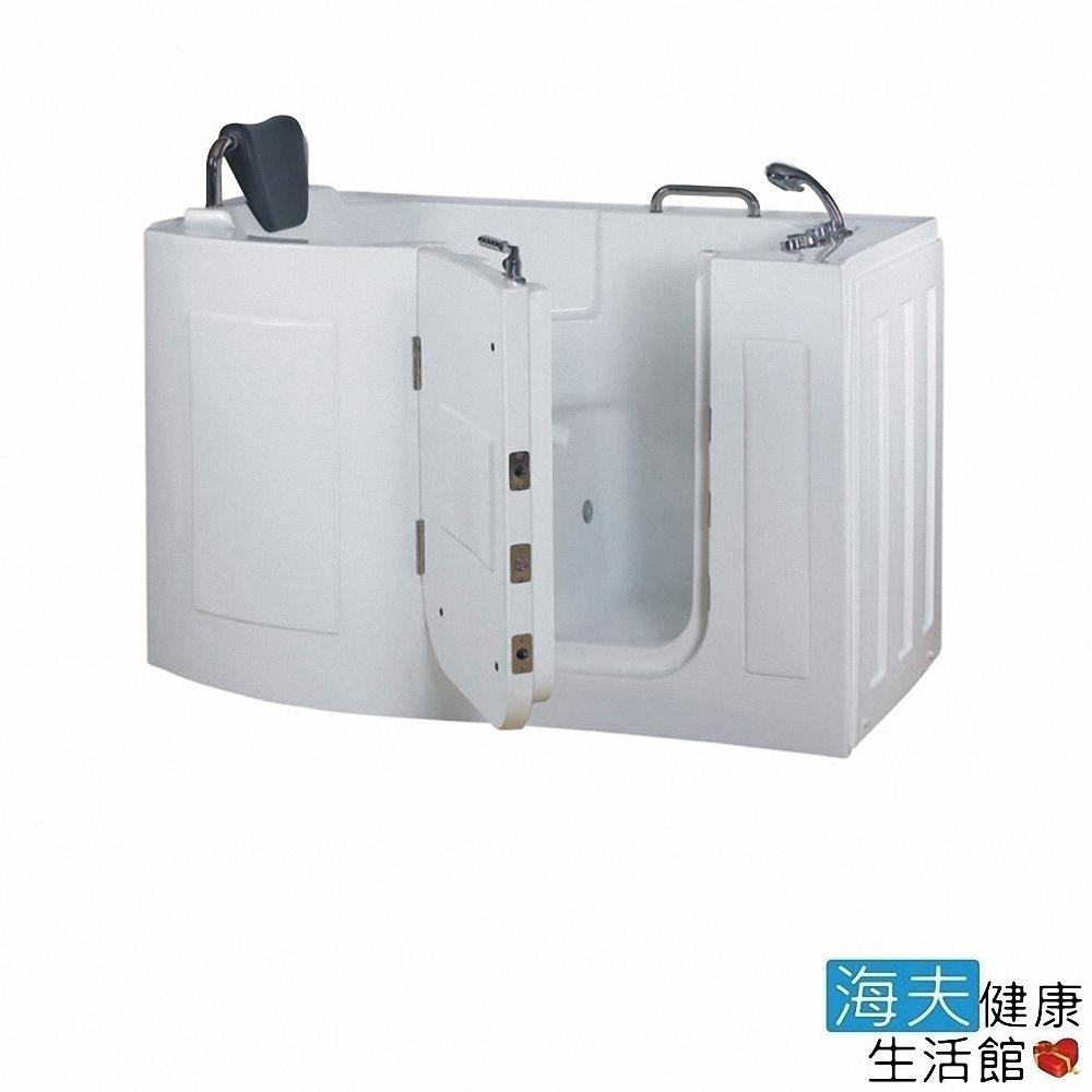 海夫健康生活館 開門式浴缸 106-R 氣泡按摩款 (152*81*100cm)