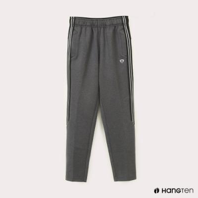 Hang Ten-男童-恆溫多功能-鬆緊抗起球溫暖運動長褲-灰色