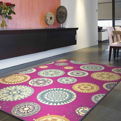 范登伯格 - 維拉 現代絲質地毯 - 晶球 (200 x 300cm)