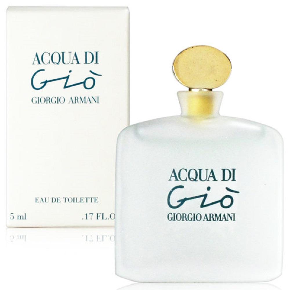GIORGIO ARMANI亞曼尼 寄情水女性淡香水5ml(法國進口)