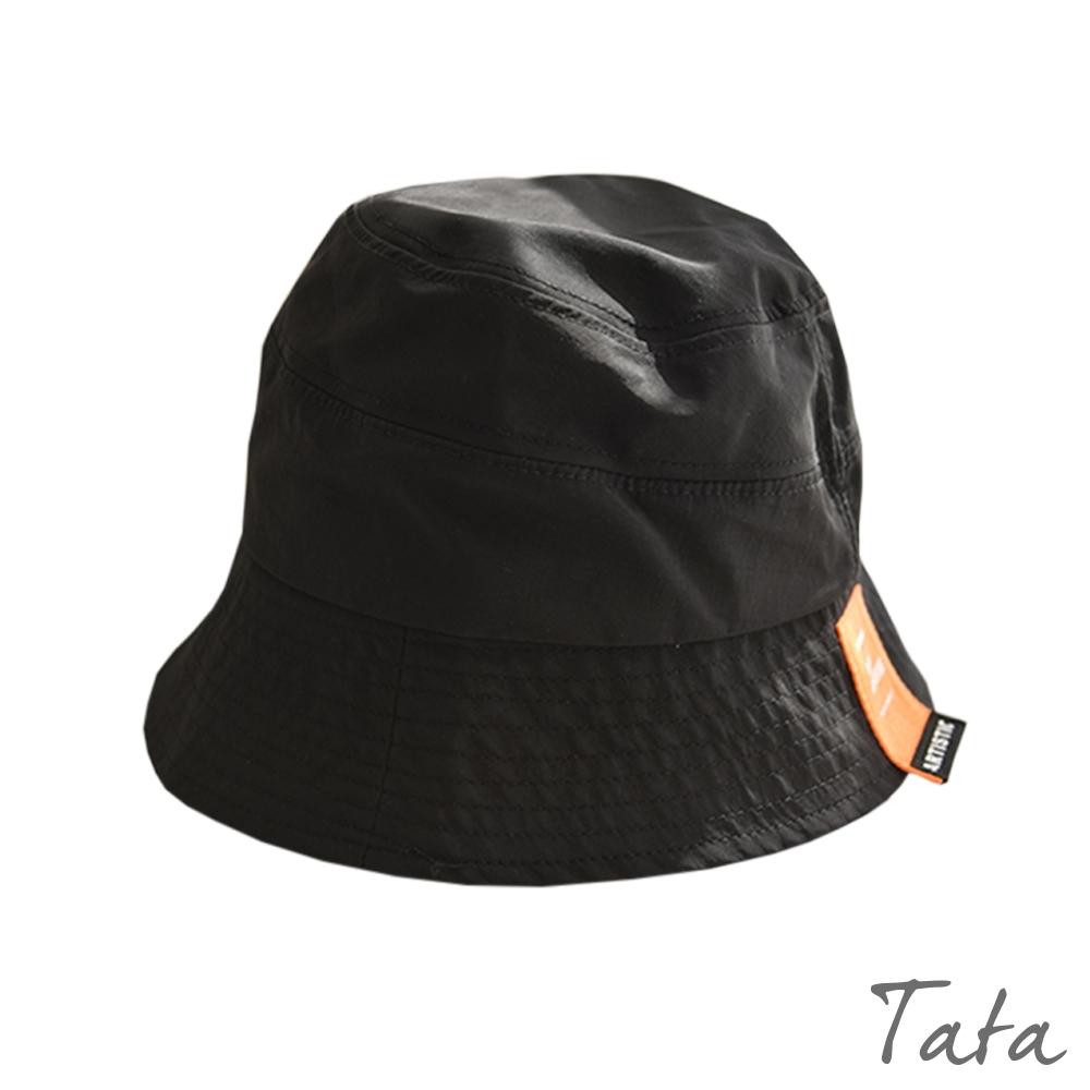 潮流標籤漁夫帽 共二色 TATA product image 1