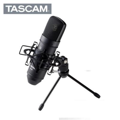 TASCAM TM-80 Black 電容麥克風套裝組 黑色版