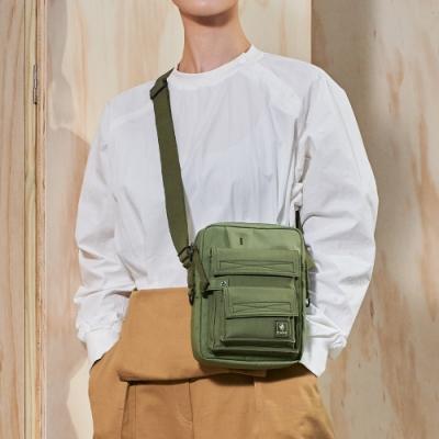 PORTER - 工裝展演TRADE工裝輕巧斜背小包 - 橄欖綠