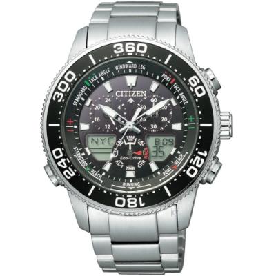 (無卡分期6期)CITIZEN星辰PROMASTER注目潮流光動能手錶(JR4060-88E)
