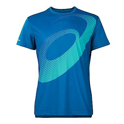 ASICS 亞瑟士 LOGO T恤 2011A134-400
