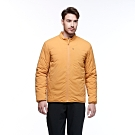 【HAKERS 哈克士】男款 防撥水保暖外套(桔黃色)