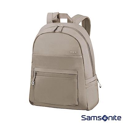 Samsonite新秀麗 Move2.0輕量女用筆電後背包14 (灰褐)