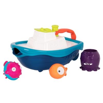 美國【B.Toys】拖船小跟班