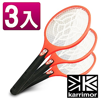Karrimor大拍面三層強力電蚊拍(KA-1801)3入