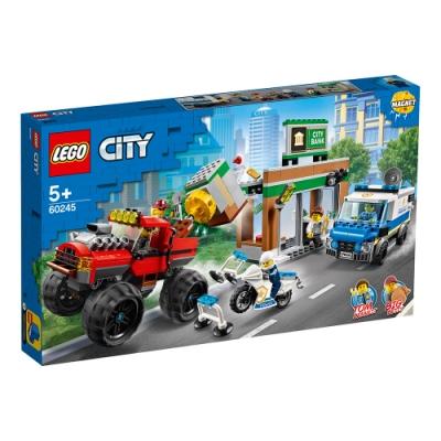 樂高LEGO 城市系列 - LT60245 警察巨輪卡車搶案