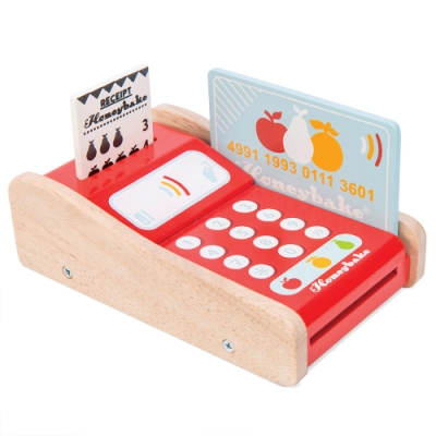 英國 Le Toy Van 角色扮演系列-信用卡刷卡機玩具組