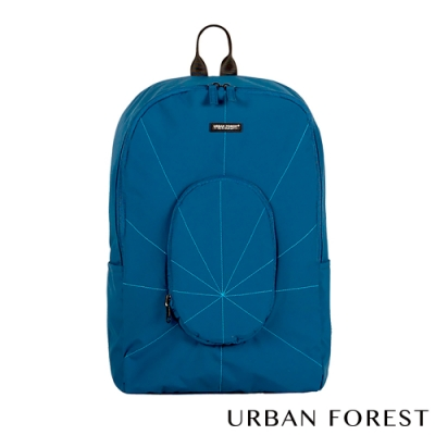 URBAN FOREST都市之森 樹-摺疊後背包/雙肩包 深海藍