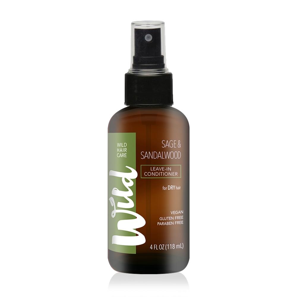 Wild Hair Care 有機髮 檀香鼠尾草防護滋養免沖護髮素 118mL