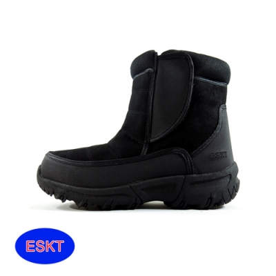 ESKT 男短筒雪鞋SN217【黑色】