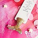 烏克蘭myBookmark-喜愛人類書籍的黃金美人魚書籤