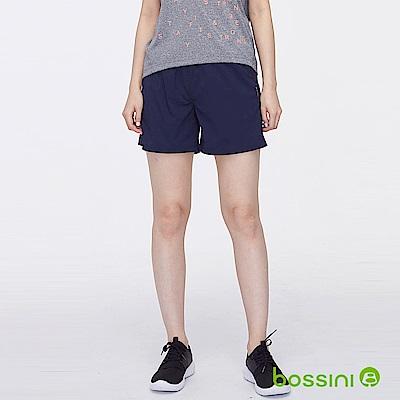bossini女裝-速乾短褲02藍紫色
