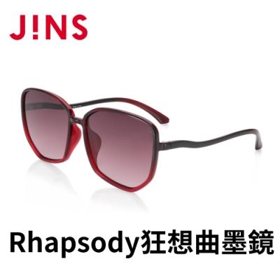 JINS Rhapsody 狂想曲CHARMING SECRET墨鏡(ALRF21S058)酒紅