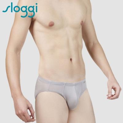 slogg sloggi Men Cool Stripy極尚涼感系列三角褲 M-XL 灰岩礦 G918503 QK