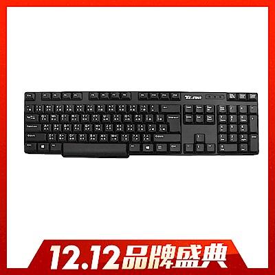 (時時樂)T.C.STAR-USB有線薄膜鍵盤TCK546