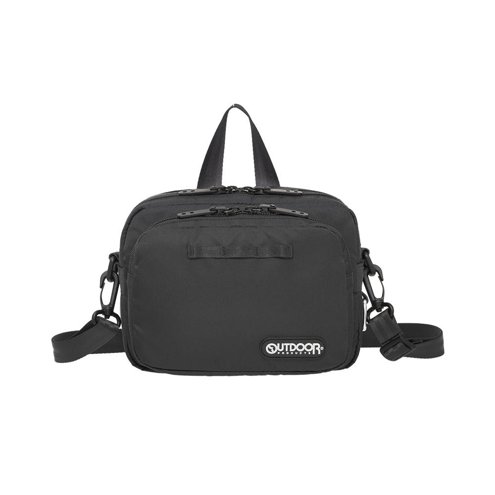 【OUTDOOR】慢活宣言-側背包S-黑色 OD211035BK