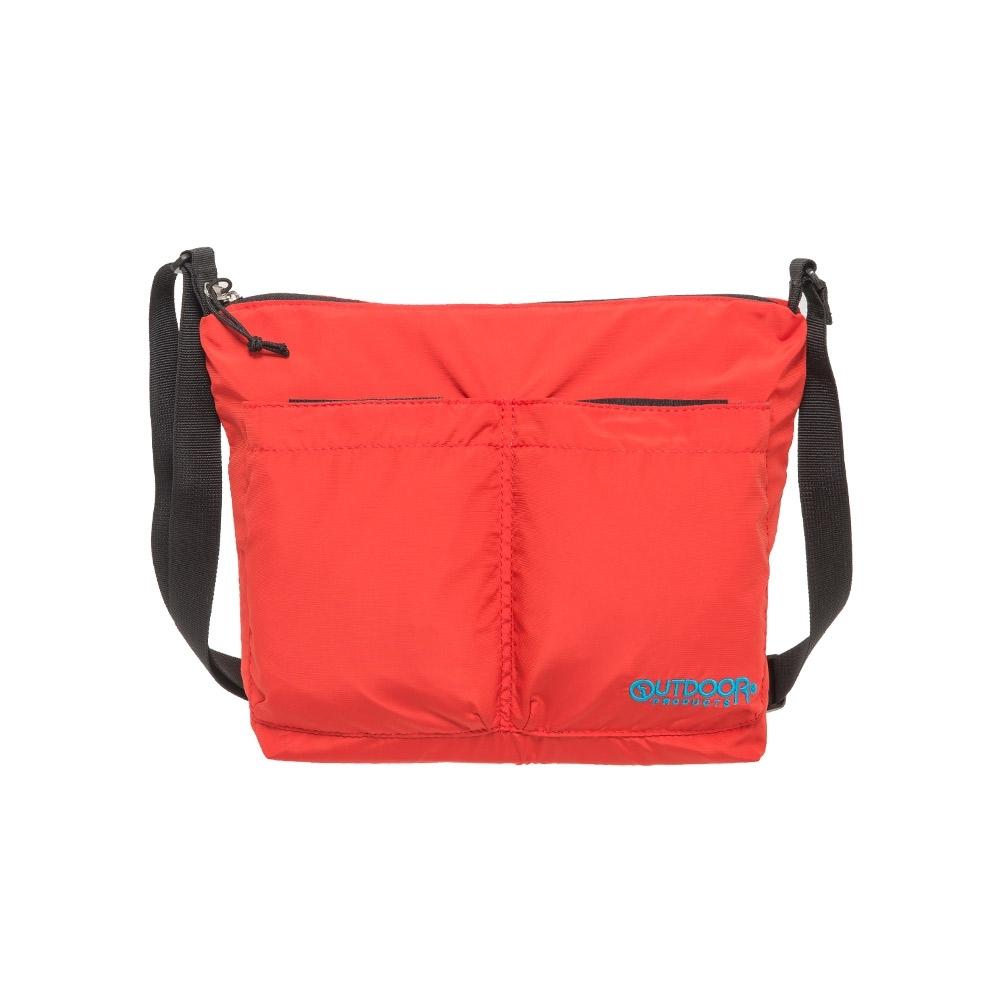 【OUTDOOR】輕遊系-側背包-紅色 OD201116RD