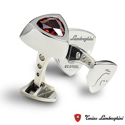 藍寶堅尼Tonino Lamborghini SCUDO Red 袖釦