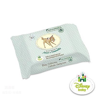 Naturaverde-BIO自然之綠 - 小鹿斑比洋甘菊超細柔濕紙巾單包20抽 @ Y!購物