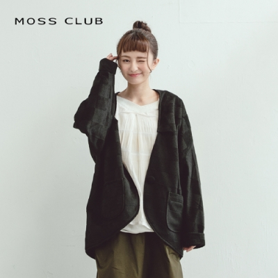 【MOSS CLUB】日系格紋-外套(二色)