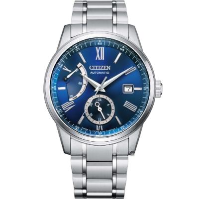 CITIZEN 星辰 Mechanical 動力儲存紳士商務機械錶(NB3001-61M)40.5mm