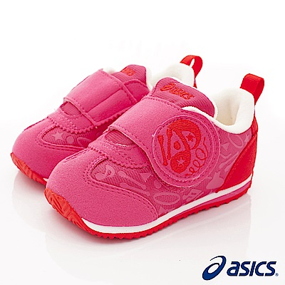 亞瑟士SUKU2機能鞋 體操項目造型學步款 44A001-500粉(寶寶段)