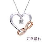 京華鑽石 鑽石項鍊 18K Eternity 系列 鑽重共0.14克拉