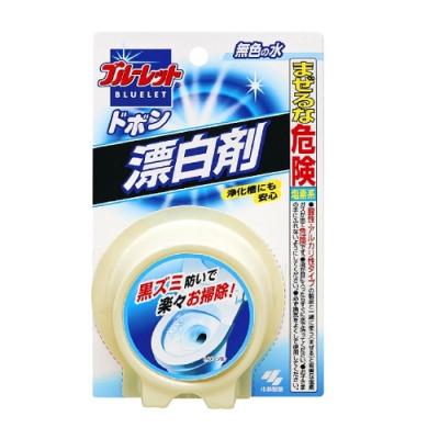 日本【小林製藥】圓型馬桶芳香除菌靈-清潔漂白120g