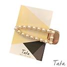 珍珠水鑽髮夾 TATA