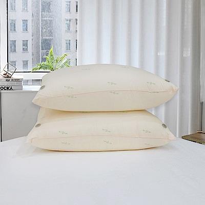 Simple Living 艾絨驅蚊防蹣抗菌透氣對流枕-二入(台灣製)