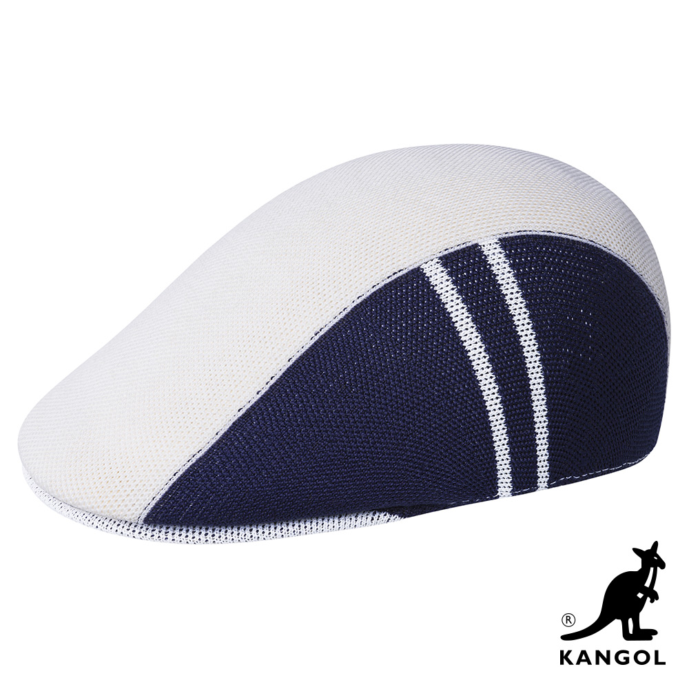 KANGOL-507 STAR STRIPE 鴨舌帽 - 白色