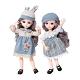 colorland 芭比娃娃多關節可動 換裝娃娃公主禮盒(31公分) product thumbnail 1