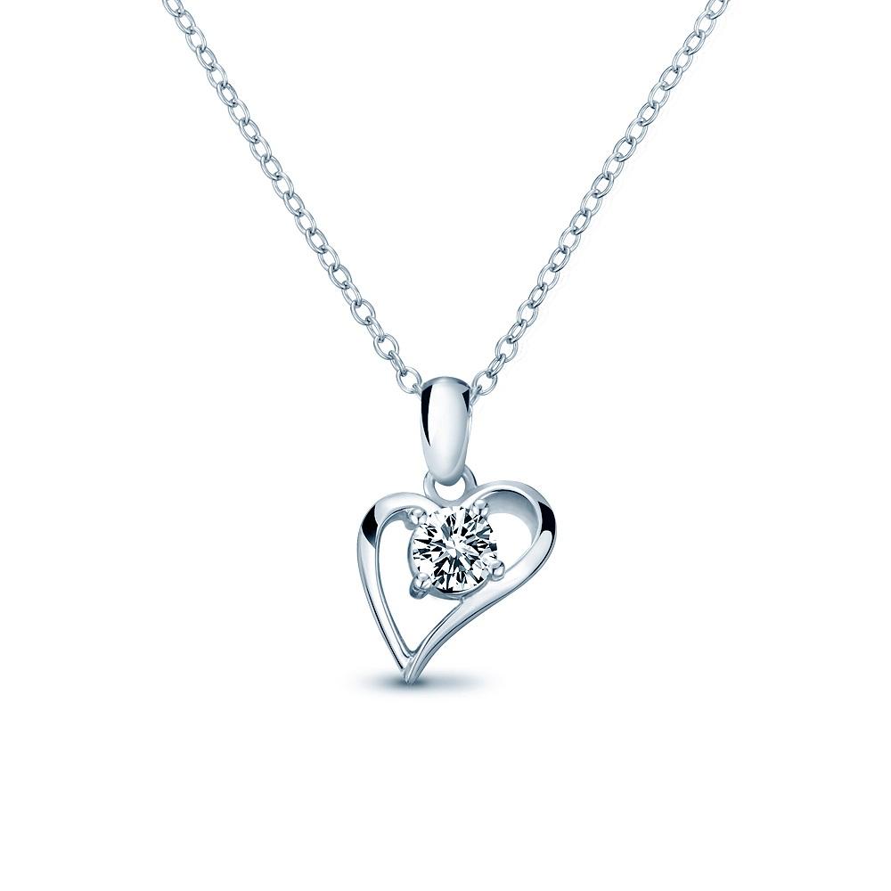 Alesai 艾尼希亞鑽石 30分 14K 鑽石項鍊 (3選1) (APF39)