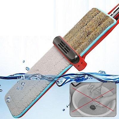 KA001 乾濕兩用平板拖把 刮刮樂拖把 直立式拖把 平板拖