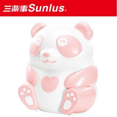 [滿額送腳皮機]Sunlus三樂事 熊貝比電動吸鼻器(粉紅)