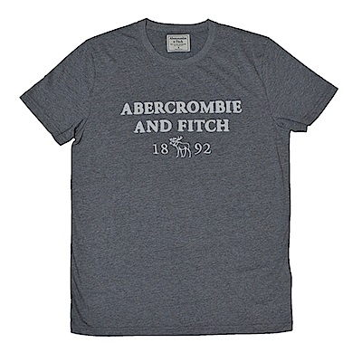 AF a&f Abercrombie & Fitch 短袖 T恤  灰色 1204