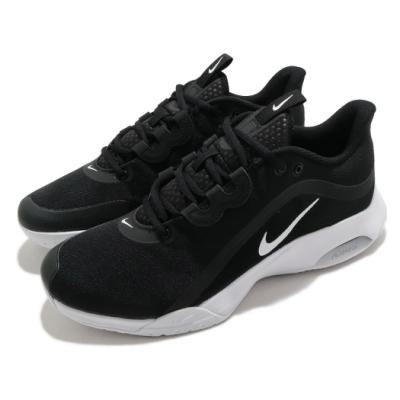 Nike 網球鞋 Air Max Volley 運動 男鞋 氣墊 避震 包覆 支撐 穩定 球鞋 黑 白 CU4274002