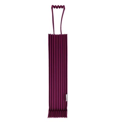 ISSEY MIYAKE 三宅一生 紫色皺褶伸縮樹幹托特包