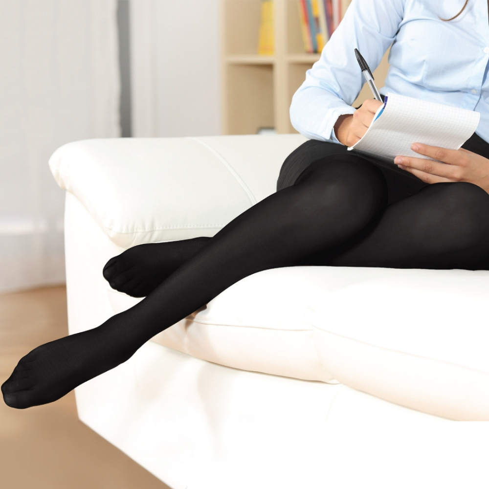 Fytto菲朵 舒適漸進式壓力褲襪  女款黑色 (M/L/XL) 1026