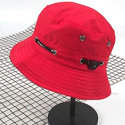 可折疊漁夫帽(圓頂盆帽.圓邊帽.遮陽帽子)-(快)