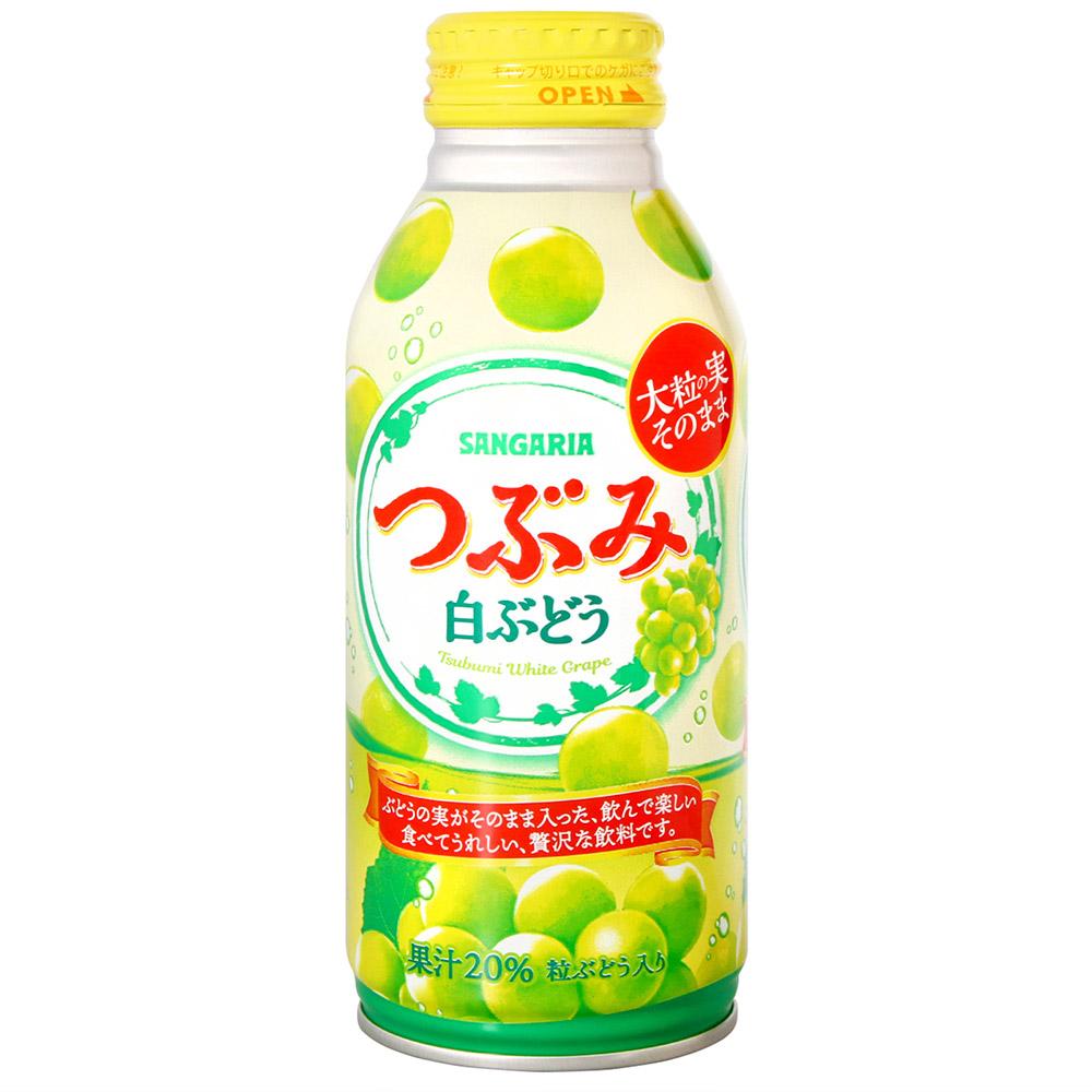 Sangaria 果感果粒飲料-白葡萄風味(380ml)