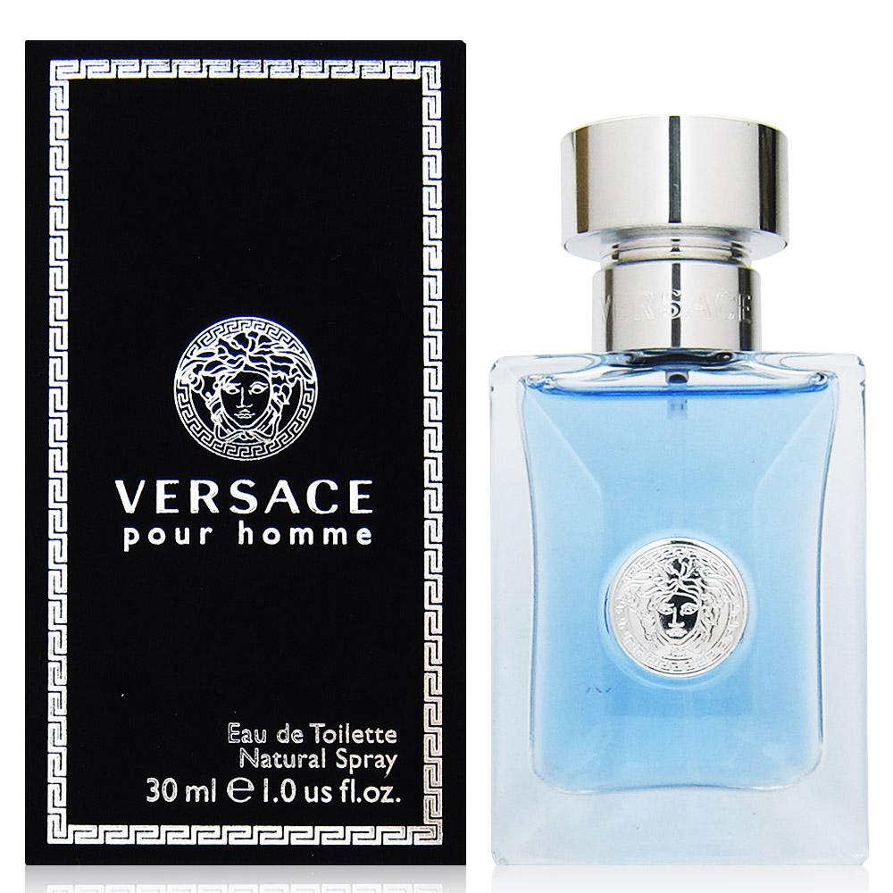 Versace凡賽斯 經典男性淡香水30ml(義大利進口)